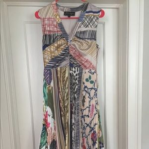 Funky Midi dress from Anthropologie